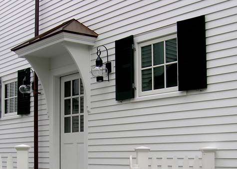 Side Door Overhang Small House Ideas Pinterest