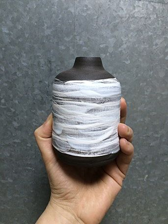Комплект: керамические вазочки ручной работы от zov