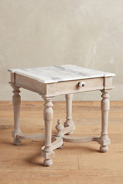 Amantine Side Table #anthropologie