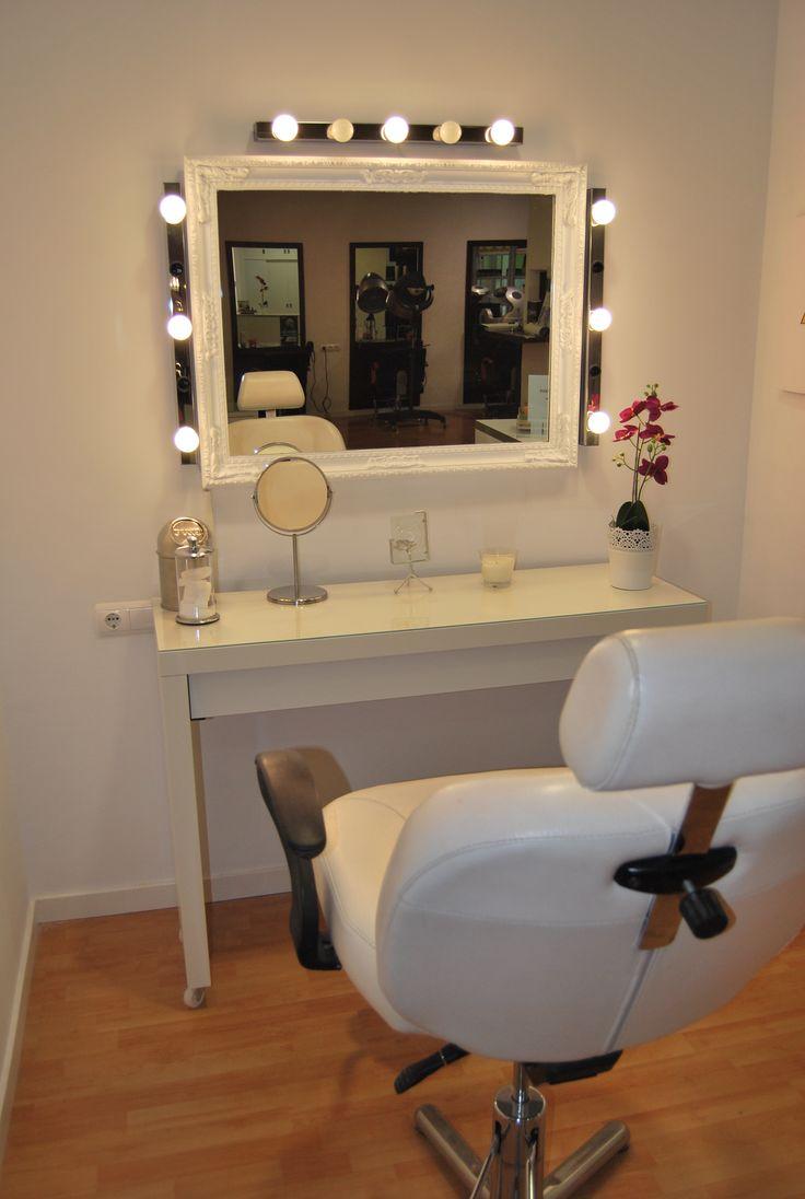 mesa de maquillaje