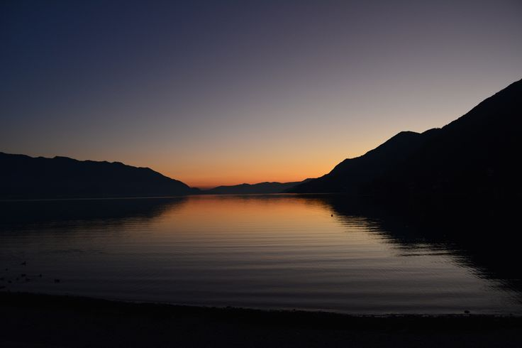 Tramonto a Cannero - Sunset on Lake Maggiore