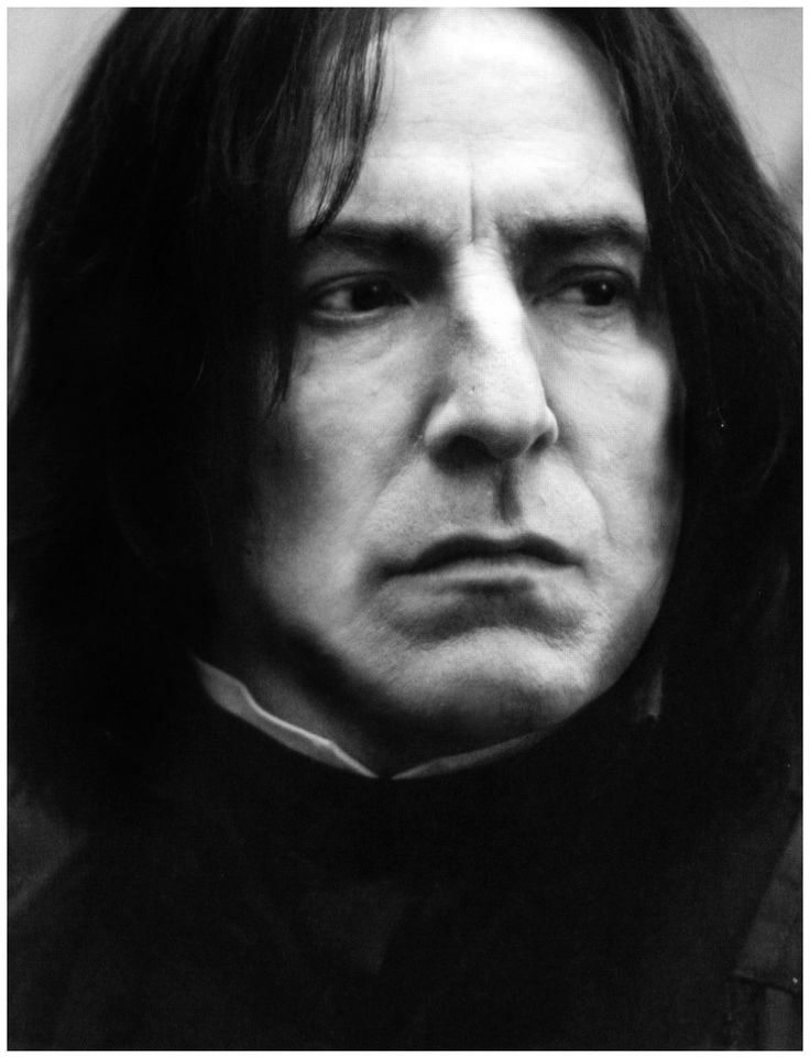 Alan Rickman as Potion Master Severus Snape