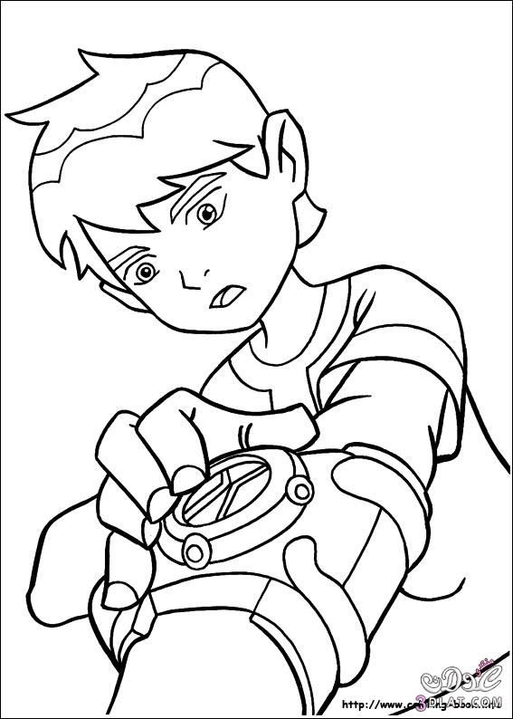 ben 1000 coloring pages - photo#12