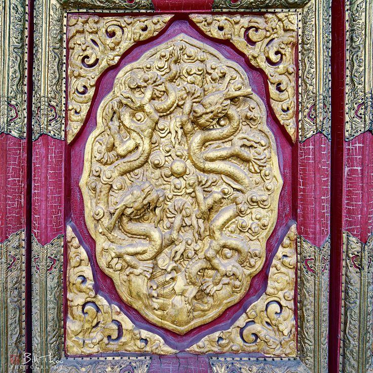 https://flic.kr/p/Sg3X1N   Dragon Door   Forbidden City, Palace Museum, Beijing, November 2016.