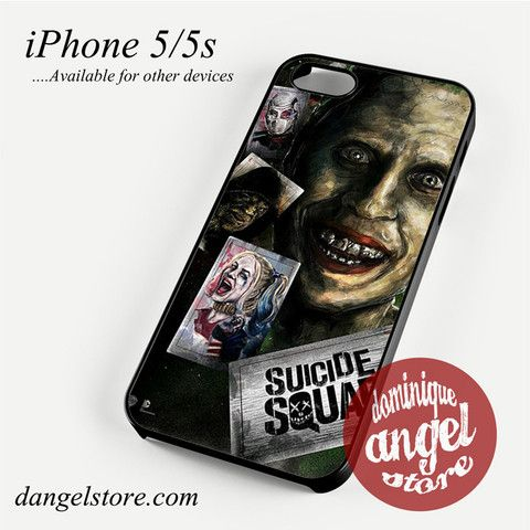 Suicide Squad Phone case for iPhone 4/4s/5/5c/5s/6/6 plus