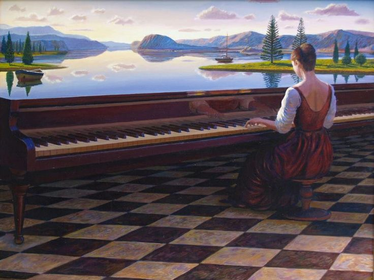 Image result for piano magic realism