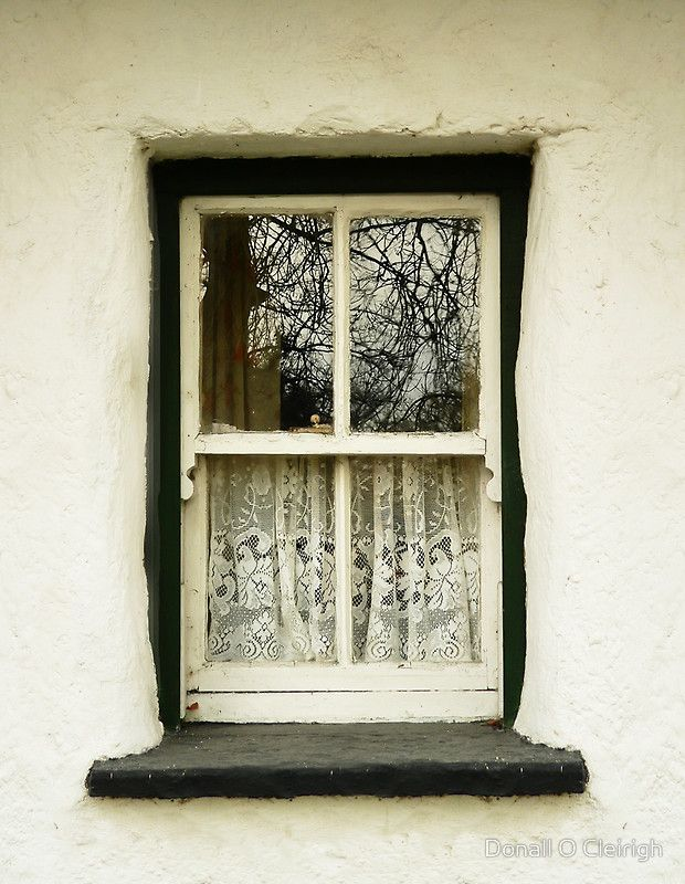 <3: Doors, Country Cottages, Irish Country, Lace Curtains, Irish Cottages, Google Search, Cottage Windows, Donnie Ocleirgh, Cottages Window
