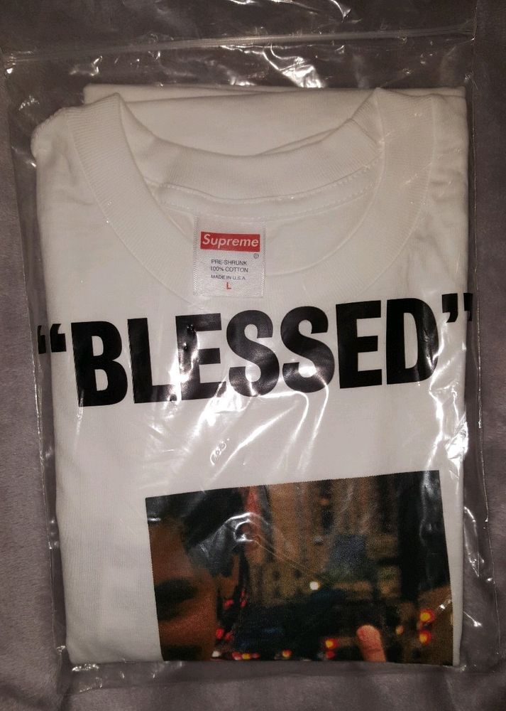 6f927d70070c Supreme Blessed Tee White L Large (Tee Only No DVD) FW18 In Hand #Supreme  #GraphicTee