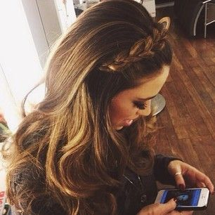 Braided headband hairstyle | Hair