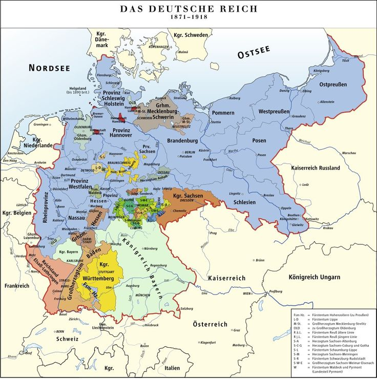 germany under bismarck In 1871, otto von bismarck became the imperial chancellor of the second german reich his position unchallenged and strongly supported.