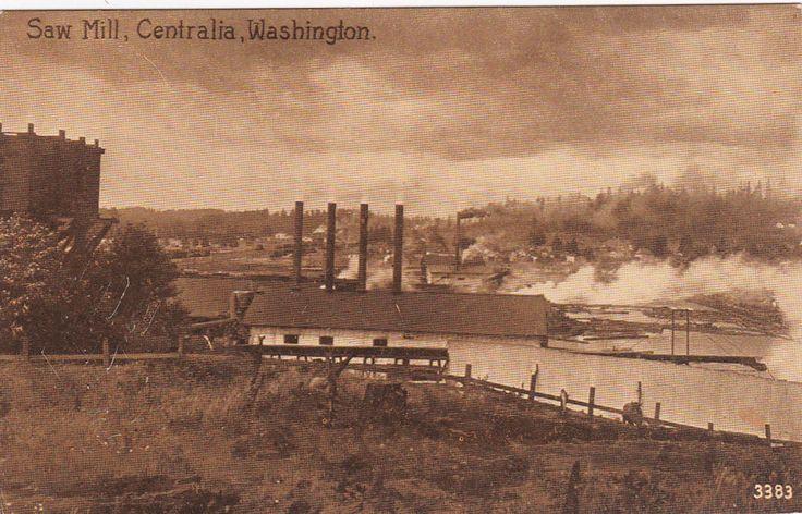 CENTRALIA , Washington, 1900-1910's; Saw Mill
