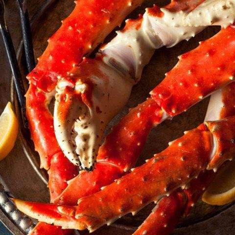 Alaskan King Crab Legs! These giant legs are beyond your imagination! Not too many places offer crab legs this big for the same price!