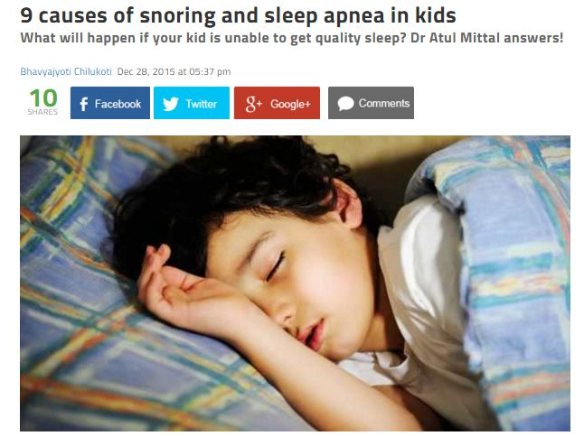 9 Causes of Snoring and Sleep Apnea in Children - http://content.cpaptotalcare.com/9-causes-of-snoring-and-sleep-apnea-in-children/