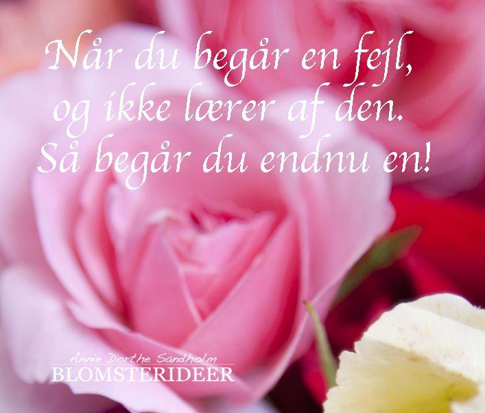 Citat fra Blomsterideer.dk
