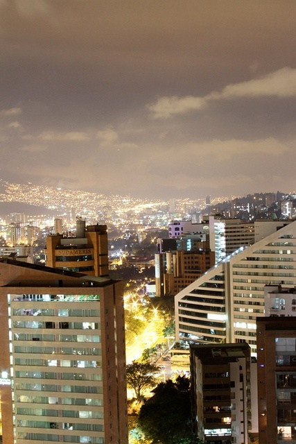 Medellin at Night (copy rights Andres Herrera)