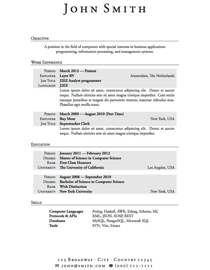 high school resume template free professional format for freshers download job online