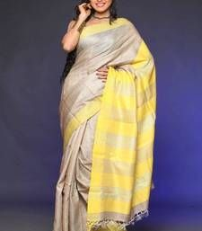 Buy ECO STREE tussar-silk-saree online