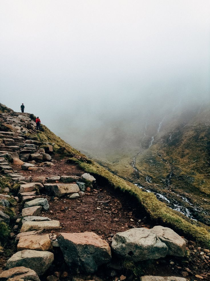 Ben Nevis, Scotland - the United Kingdoms highest point. A though walk up, but on the top its worth it!