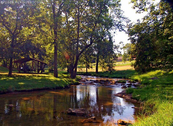 Steele Creek Park - Bristol TN - Caught many a crawdad here. :)