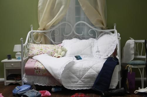 1 6 Playscale Doll Custom Bedroom Set Barbie Very Hot Toys Custom Furniture OOAK | eBay