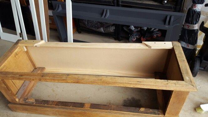 Replacing knackered wood