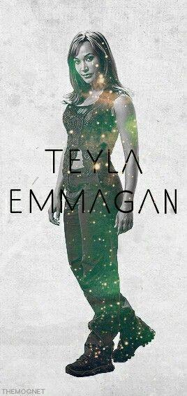 Rachel Luttrell as Teyla Emmagan