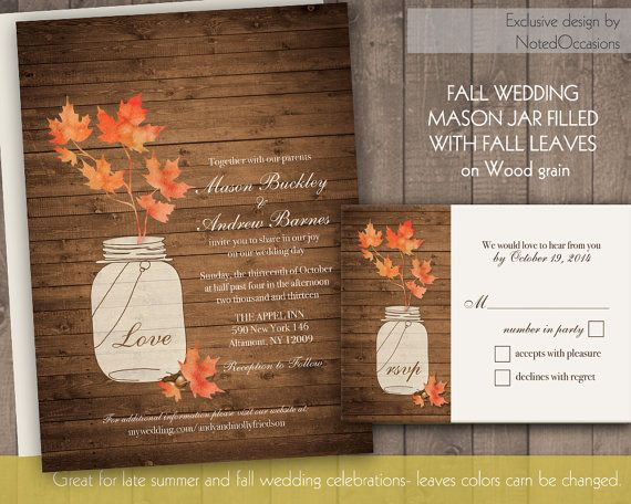 24 best country wedding invitations images on pinterest, Wedding invitations