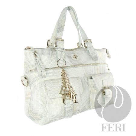 FERI ALABASTER HANDBAG, made with beautiful Italian leather.  (click on pic to go to my website)
