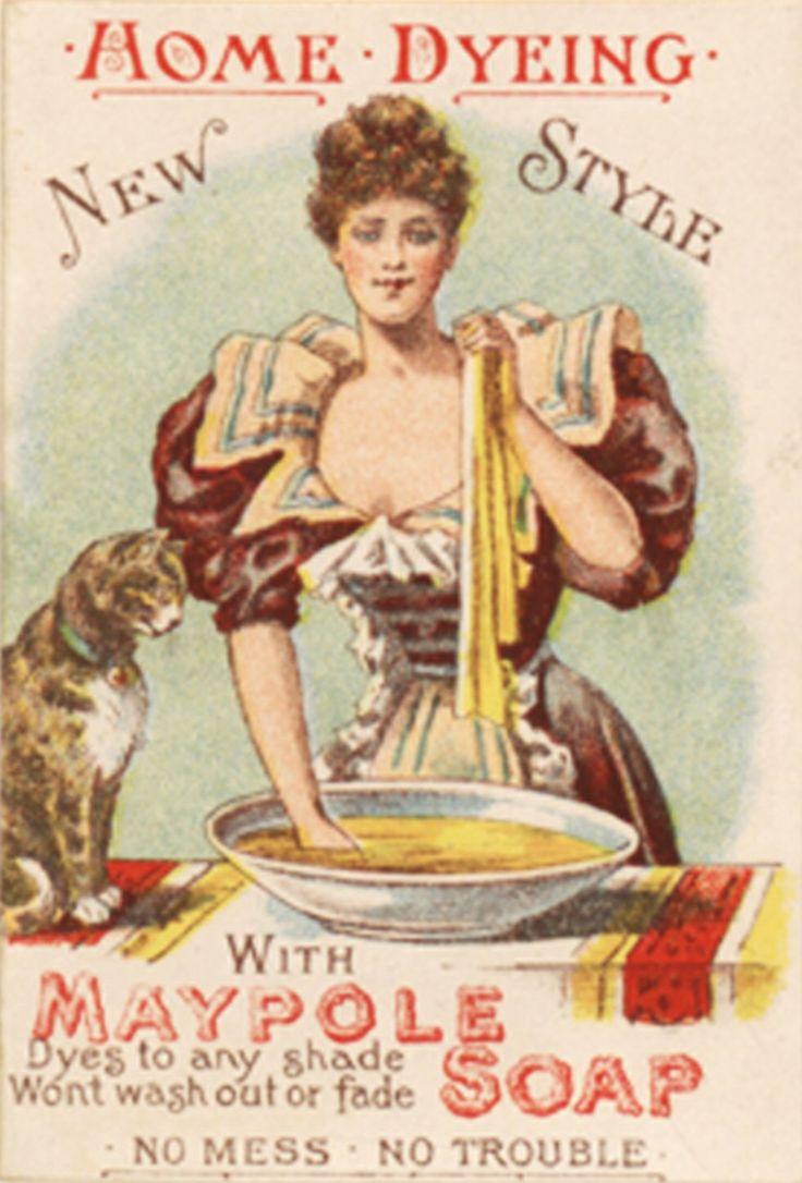 Maypole Soap trade card (c. 1900)