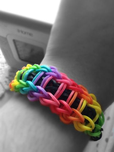 Rainbow Loom Knitting Patterns : 17 Best images about Rainbow loom items on Pinterest Loom knitting patterns...