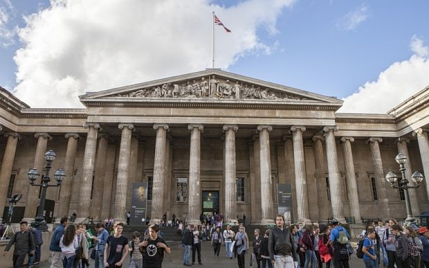 British Museum opens to whole world after 262 years as it invites Street View indoors - The BMi is the largest institution in the world to open its entire collection to Google Street View.  It was founded in 1753 on the founding principles of the Enlightenment: showing off its extensive collections, free, to the whole world. From today, fans of the BM will be able to avoid the crowds to snoop through more than 4,500 objects online, peering inside glass cabinets to inspect their finest…