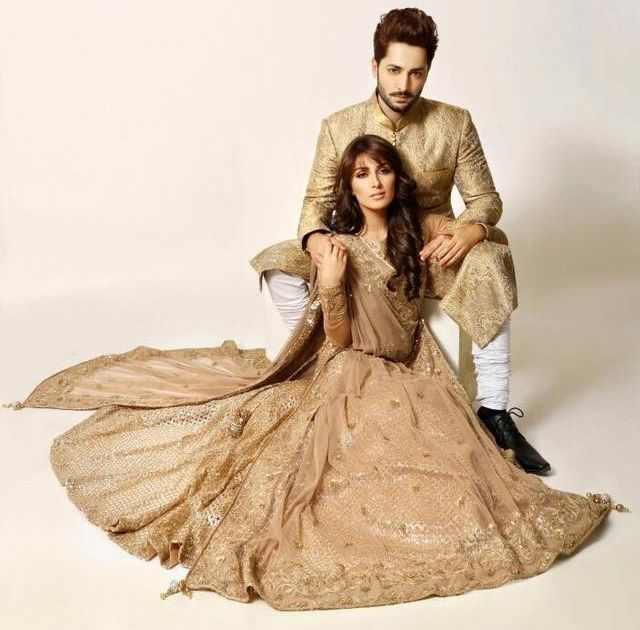 Ayeza Khan and Danish Taimoor for FHM Cover