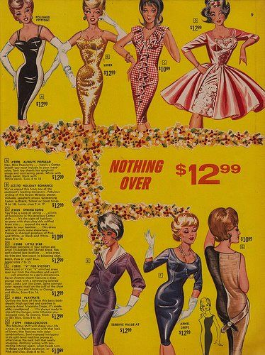 A STUNNING ASSORTMENT FROM FREDERICKS OF HOLLYWOOD 1967, OFFERING SOMETHING FOR EVERYONE! AND AFFORDABLE TOO!