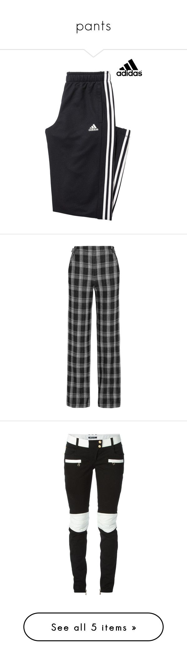"""pants"" by pasteldemerme ❤ liked on Polyvore featuring tops, hoodies, adidas hoodie, sweatshirt hoodies, black and white striped hoodie, striped hoodies, stripe hoodie, pants, bottoms and black"