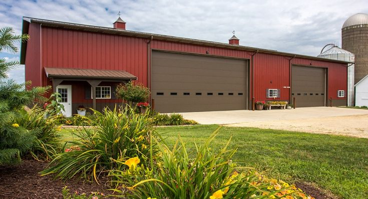 Morton Buildings Farm Shop In Stillman Valley Illinois