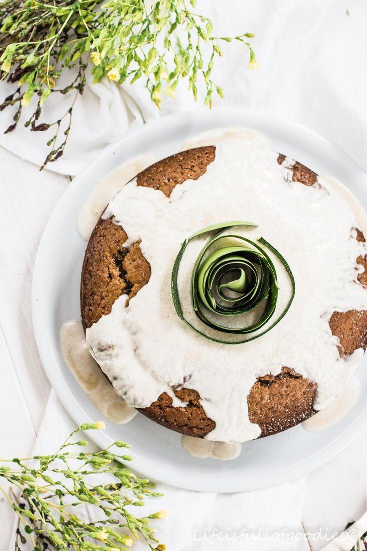 Ein gesunder Zucchinikuchen und eine Kuchenschaufel-Verlosung!