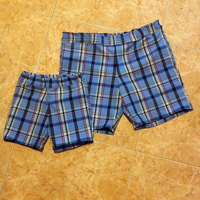El taller de Naidú: Pantalones de cuadros.