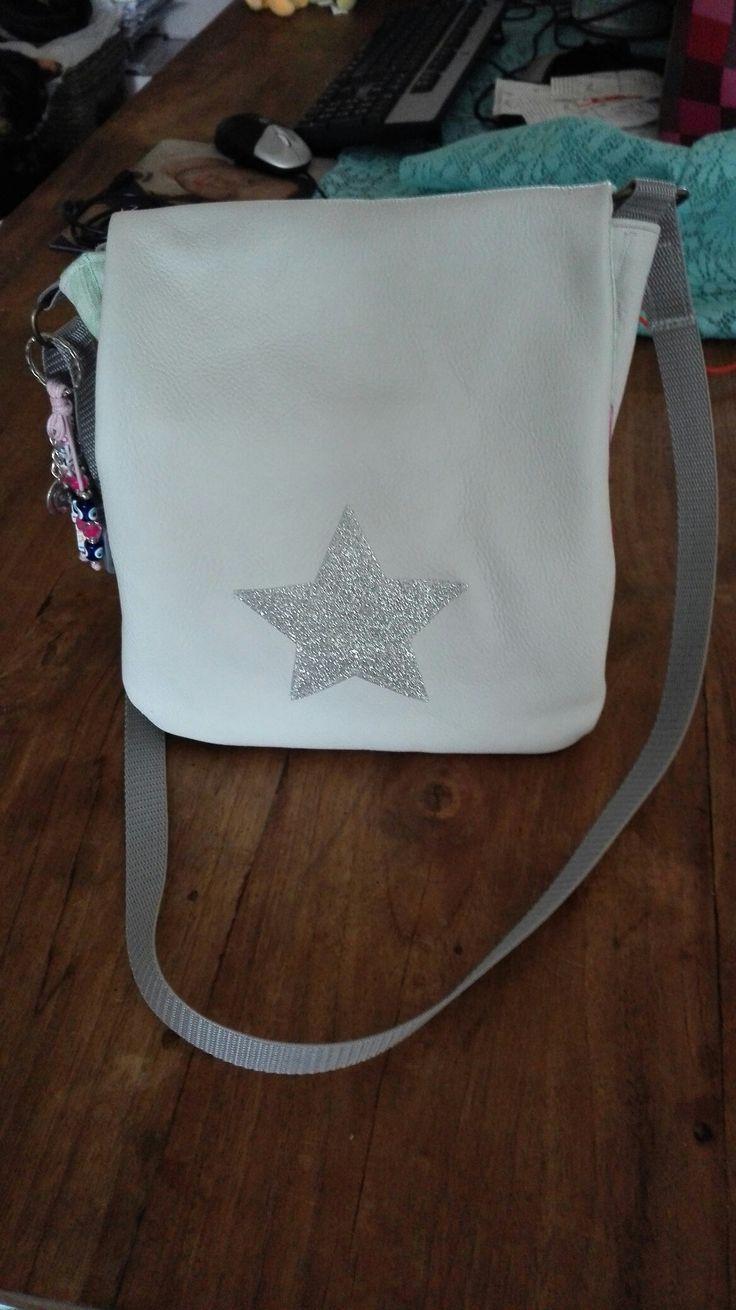 Mijn mooie leren tas!