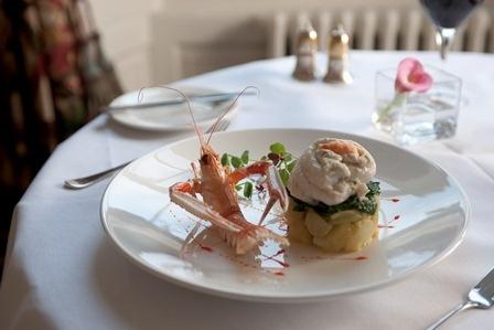 Dinner in The Atholl restaurant at The Howard, Edinburgh. #finedining #restaurant. www.thehoward.com
