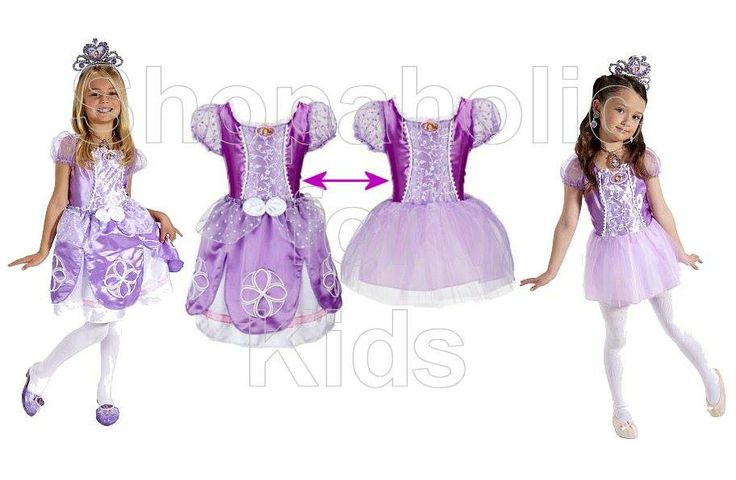 Sofia the First Sofia's Transforming Dress   Look just like Sofia in this magical 2 in 1 Transforming Dress. The removable skirt allows girls to transform from ballgown to ballerina in one easy step to double the playtime fun! Its ruffled sleeves, satin details, and sequin and lace detailed bodice will make your little girl feel like a true princess!   Size: Fits sizes 4-6x (For Ages 3 and up)   #sofiathefirst #disney #disneyjunior #sofia #princess