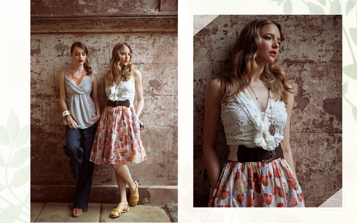 Love the skirt and eyelet top : Lace Tops, Patterns Skirts, Cute Outfits, Skirts Outfits, Cool Wall, Summer Outfits, Eyelet Top, Chicago Style, Belts