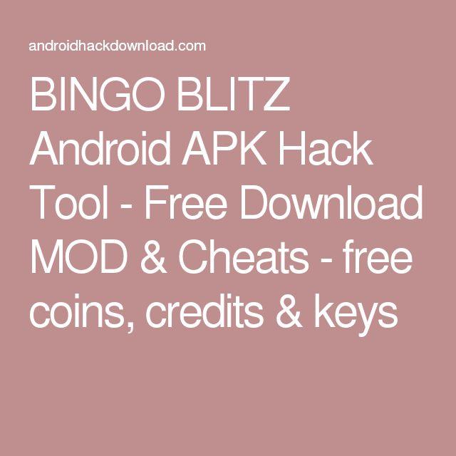 BINGO BLITZ Android APK Hack Tool - Free Download MOD & Cheats - free coins, credits & keys