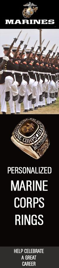 #USMC #Marines #SemperFi #military #usarmy #usa Celebrate a rewarding career in the US Marines with a Personalized Military Ring 	#USMC #USMarines #USMilitary | http://www.us-military-rings.com/marine-corps-rings/