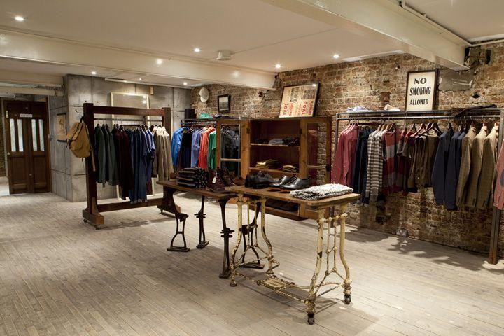 Topman General store, London store design