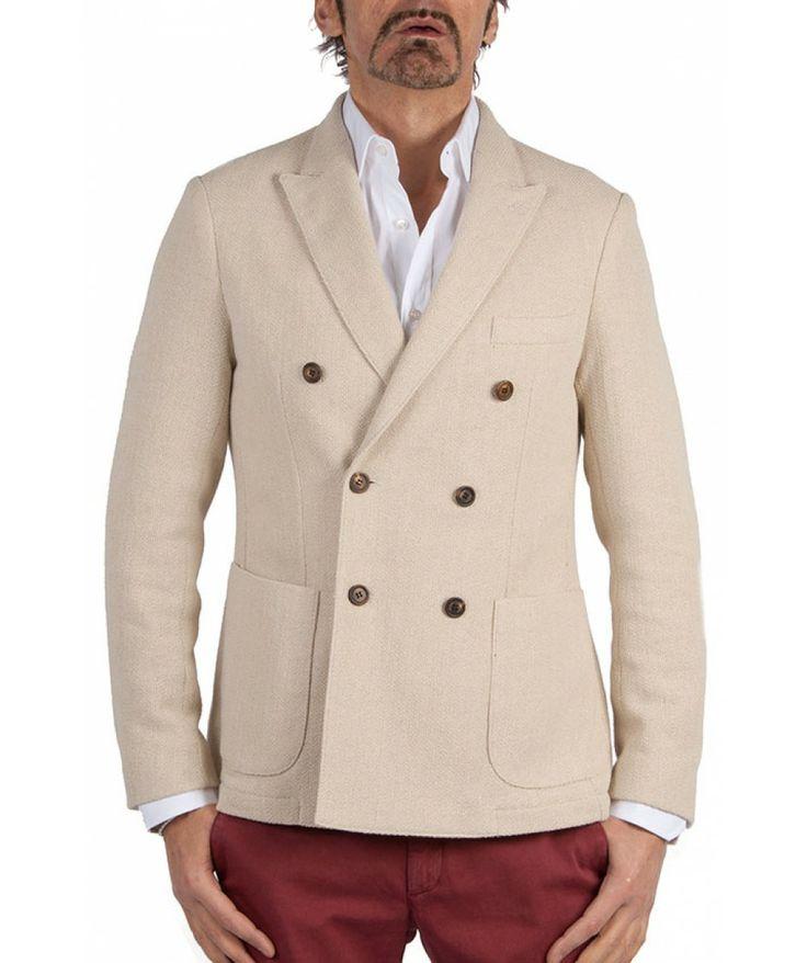 Groppetti Luxury Store - Giacca Doppiopetto - Eleventy Spring Summer Collection 2014 #eleventy #men #man #fashion