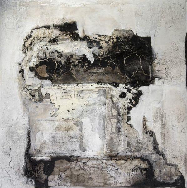 Wolfgang Walter: Monolith , im Quadrat, 2013, <br>100 x 100 cm