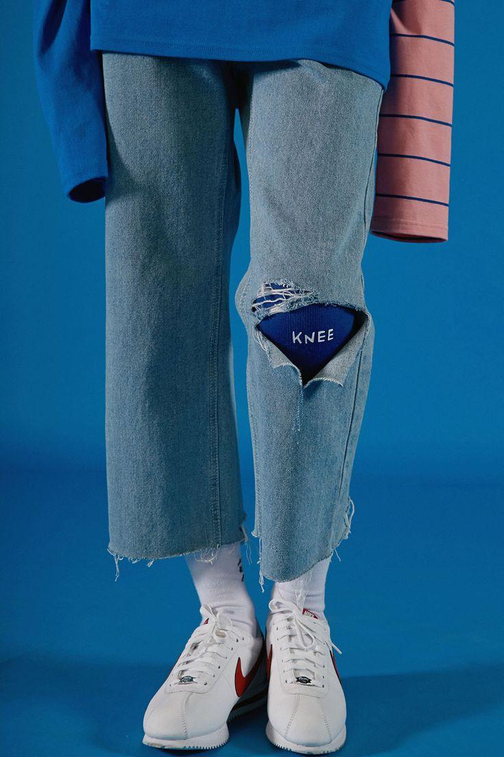 Customised jeans