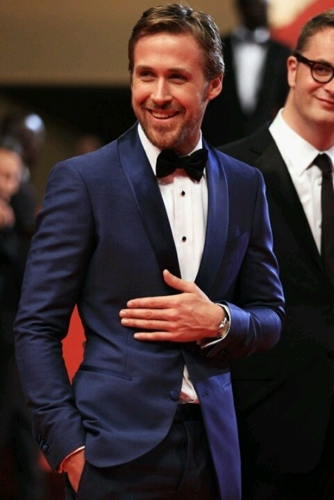 Groom Style | Tom Ford | Blue Tux | Gosling