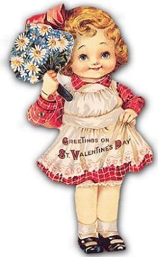 754 best PostcardsVintage Valentine images on Pinterest  A bunny