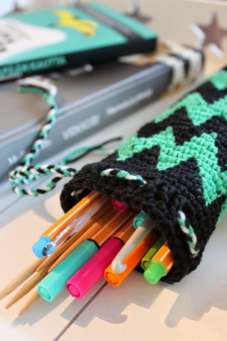 My handicrafts http://sweetsweetthings.blogspot.fi/2014/05/sahakka-putkipenaali.html